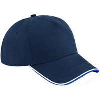Accesorios textil Gorra Beechfield B25C Azul Marino/Real/Blanco