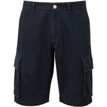 textil Hombre Shorts / Bermudas Asquith & Fox AQ054 Azul