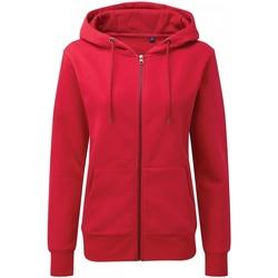 textil Mujer Sudaderas Asquith & Fox AQ081 Rojo Cherry