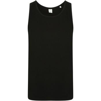 textil Hombre Camisetas sin mangas Skinni Fit SF123 Negro