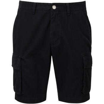 textil Hombre Shorts / Bermudas Asquith & Fox AQ054 Negro