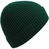 Accesorios textil Gorro Beechfield B380 Verde Botella