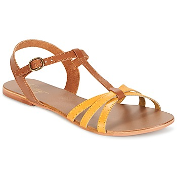 Zapatos Mujer Sandalias Betty London IXADOL Amarillo / Camel