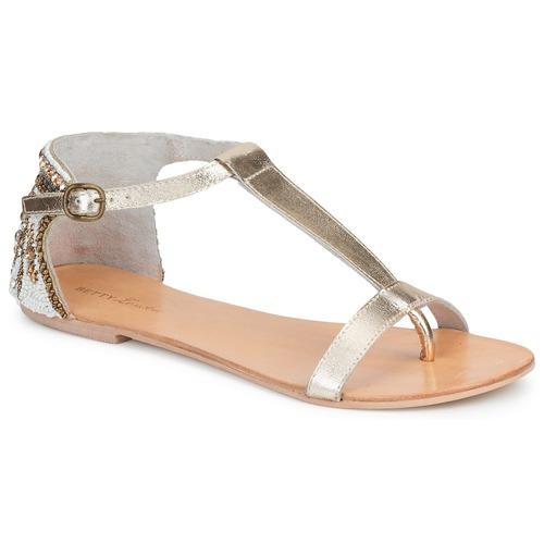 Zapatos Mujer Sandalias Betty London MICHOUNE Dorado
