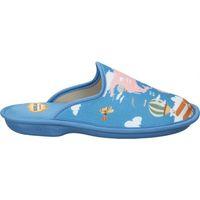 Zapatos Mujer Pantuflas Cosdam Z. DE CASA  4046 SEÑORA AZULON Bleu