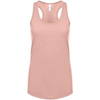 textil Mujer Camisetas sin mangas Next Level NX1533 Rosa Desert