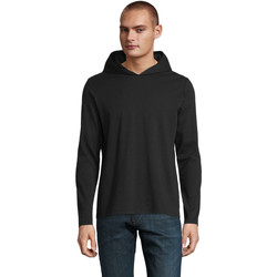 textil Hombre Camisetas manga larga Sols LOUIS MEN Negro profundo