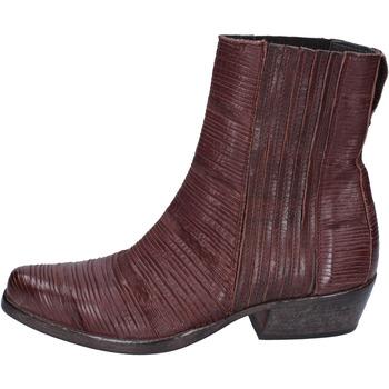 Zapatos Mujer Botines Moma BJ679 Marrón