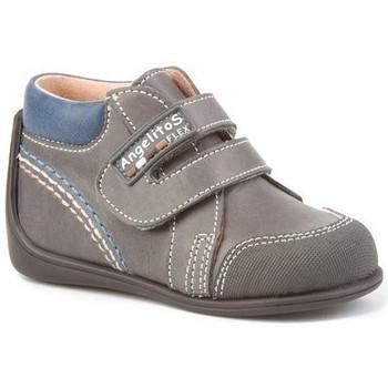 Zapatos Niño Botas de caña baja Cbp - Conbuenpie Botas Primeros Pasos de piel by CBP Gris