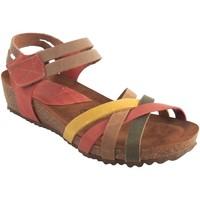 Zapatos Mujer Sandalias Interbios Sandalia señora  5338 varios Amarillo
