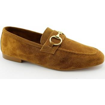 Zapatos Mujer Mocasín Divine Follie DIV-E21-2220-RH Marrone