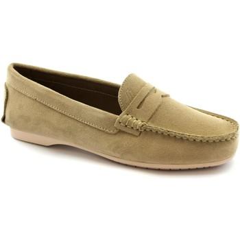 Zapatos Mujer Mocasín Frau FRA-E21-6851-SA Beige