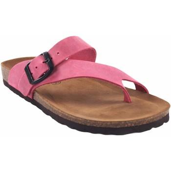 Zapatos Mujer Multideporte Interbios Sandalia señora  7119 fuxia Rosa