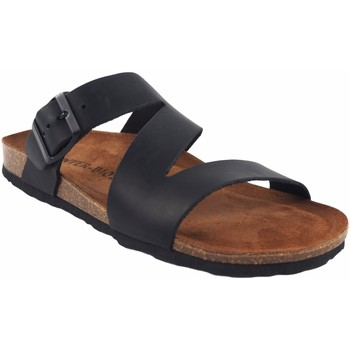 Zapatos Hombre Zuecos (Mules) Interbios Sandalia caballero  9553 negro Negro