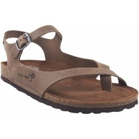 Zapatos Mujer Sandalias Interbios Sandalia señora  7164 taupe Marrón