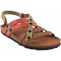 Zapatos Mujer Sandalias Interbios Sandalia señora  7200 varios Rojo