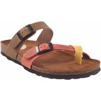 Zapatos Mujer Sandalias Interbios Sandalia señora  7212 varios Amarillo