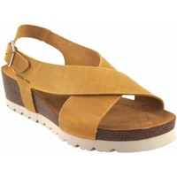 Zapatos Mujer Sandalias Interbios Sandalia señora  5656 mostaza Amarillo