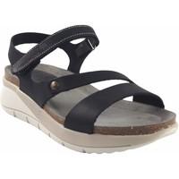 Zapatos Mujer Sandalias Interbios Sandalia señora  6901 negro Negro