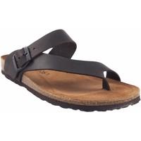 Zapatos Hombre Chanclas Interbios Sandalia caballero  9511 marron Marrón