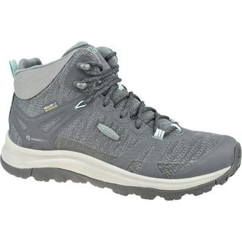 Zapatos Mujer Senderismo Keen W Terradora II Mid WP Grise