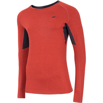 textil Hombre Camisetas manga larga 4F Men's Functional Longsleeve Rouge