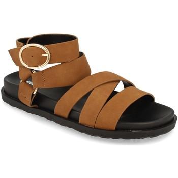 Zapatos Mujer Sandalias Buonarotti 1AF-1135 Camel