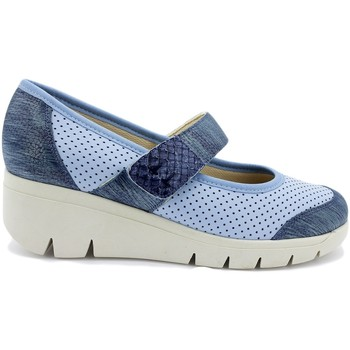 Zapatos Mujer Bailarinas-manoletinas Gasymar 1756 Azul