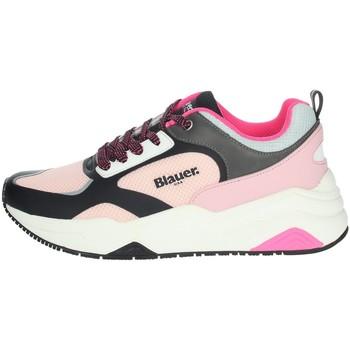 Zapatos Mujer Zapatillas bajas Blauer TAYLOR01 Negro/Rosa