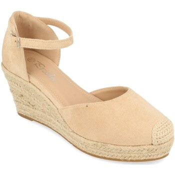 Zapatos Mujer Alpargatas Prisska DFY1099 Beige