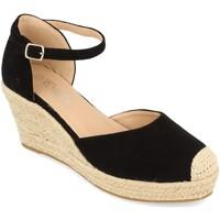 Zapatos Mujer Alpargatas Prisska DFY1099 Negro