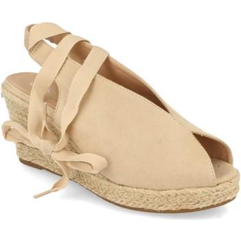 Zapatos Mujer Sandalias Prisska DFY1123 Beige