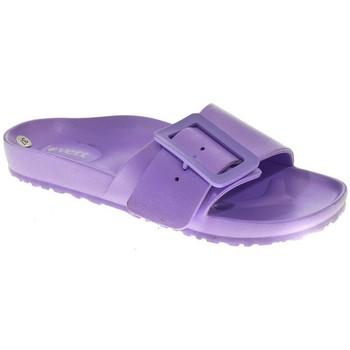 Zapatos Mujer Zuecos (Mules) Kelara PLAYA PISCINA M  LILA Violeta