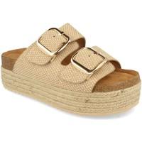 Zapatos Mujer Zuecos (Mules) Buonarotti 1BD-1179 Beige
