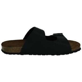 Zapatos Hombre Zuecos (Mules) Interbios Sandalias bio NEGRO