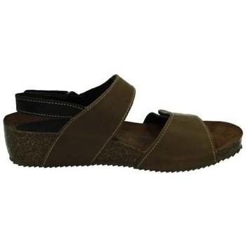 Zapatos Mujer Sandalias Interbios Sandalias con cuÑa MOKA