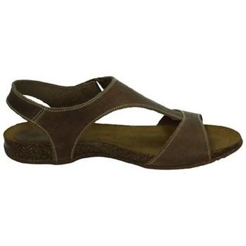Zapatos Mujer Sandalias Interbios Sandalias de piel BEIG