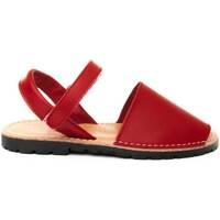 Zapatos Niños Sandalias Purapiel 69725 RED