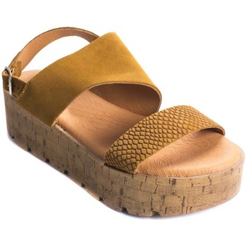 Zapatos Mujer Sandalias Wikers 69868 LEATHER
