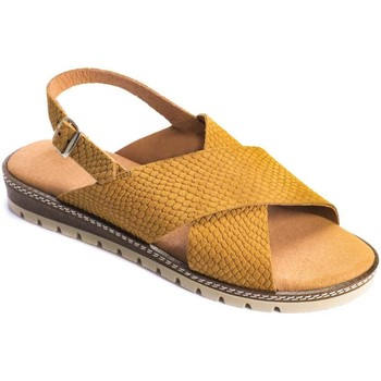 Zapatos Mujer Sandalias Wikers 69933 LEATHER