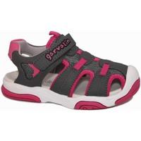 Zapatos Niño Sandalias de deporte Garvalin 6002 Gris