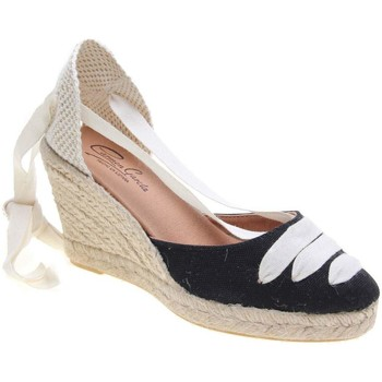 Zapatos Mujer Alpargatas Carmen Garcia 41S7.01 GAR NEGRO