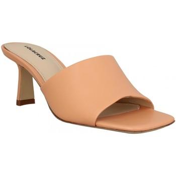 Zapatos Mujer Zuecos (Mules) Lola Cruz 136668 Naranja