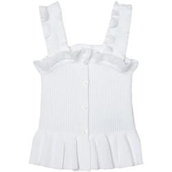 textil Niña Camisas Mayoral Top canale Blanco