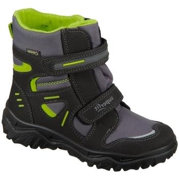 Zapatos Niños Zapatillas altas Superfit Husky Negros, Grises