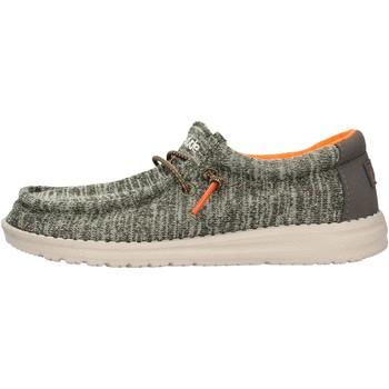 Zapatos Niño Mocasín Hey Dude - Sneaker verde WALLY YOUTH 8337 VERDE