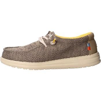 Zapatos Niño Mocasín Hey Dude - Sneaker beige safari WALLY YOUTH 0408 BEIGE