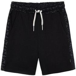 textil Niño Shorts / Bermudas Mayoral Bermuda punto granito Negro