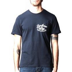 textil Hombre Camisetas manga corta Barbour - T-shirt blu MTS0835-NY91 BLU