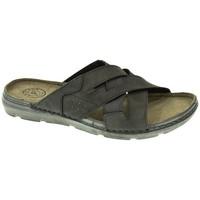 Zapatos Hombre Zuecos (Mules) Kelara SANDALIA HOMBRE  NEGRO Negro